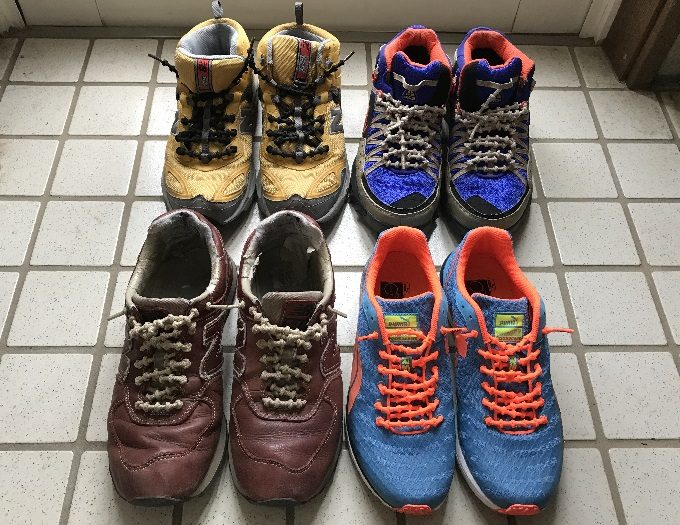 エクステネクスを使っている靴