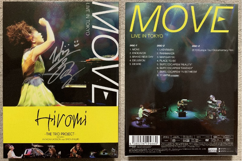 """""""MOVE"""" LIVE IN TOKYO完全盤 スリーブ"""