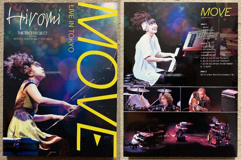 """""""MOVE"""" LIVE IN TOKYO完全盤 ケース"""